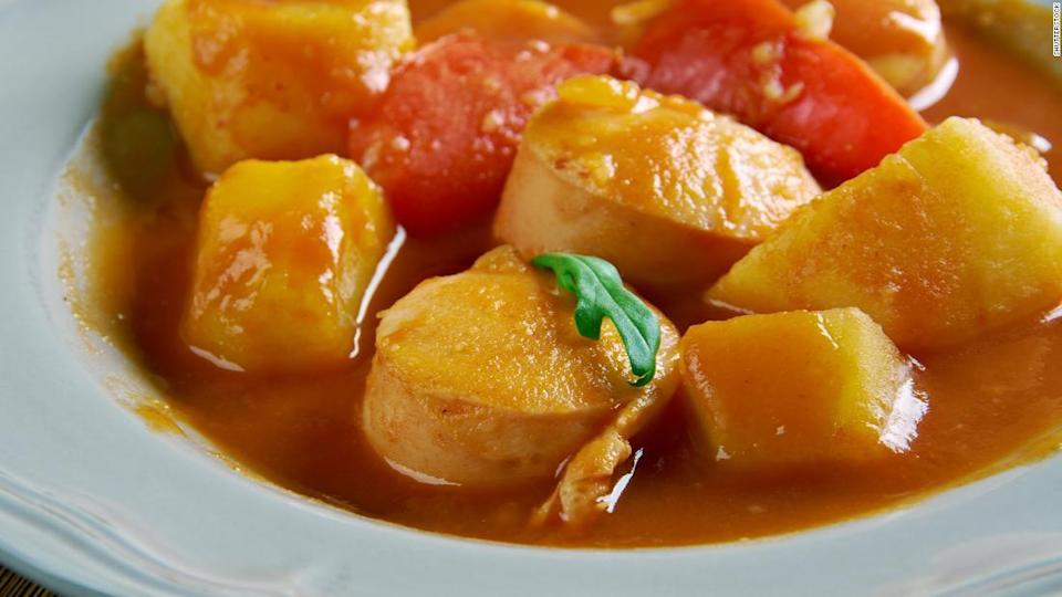 "<p>Sweet Hungarian paprika brings the magic to this hearty dish. </p><div class=""cnn--image__credit""><em><small>Credit: Shutterstock / Shutterstock</small></em></div>"