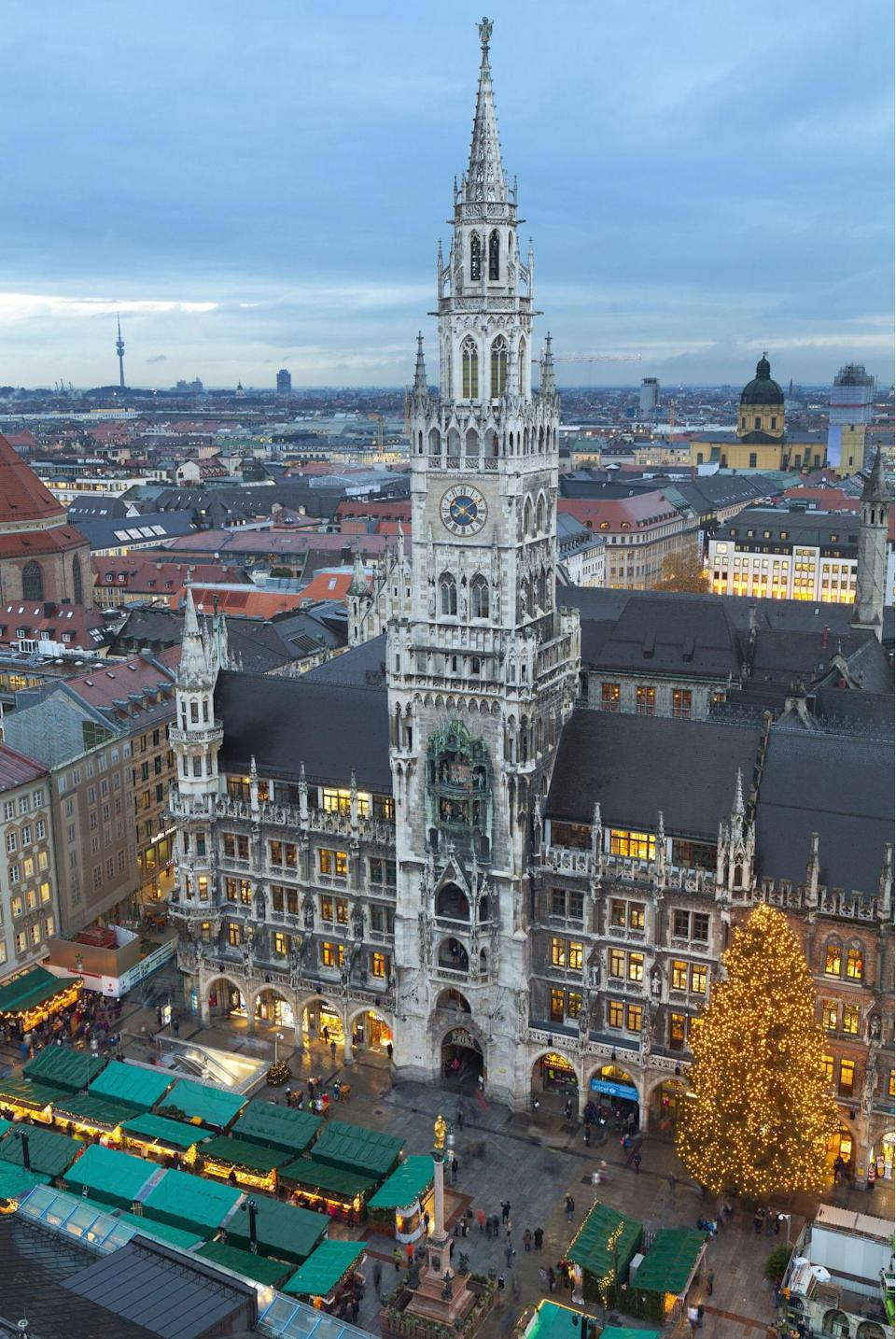 <p>The capital of the German state of Bavaria, Munich is the country's third largest city. It is a centre of arts, culture and technology. (Rex)</p>