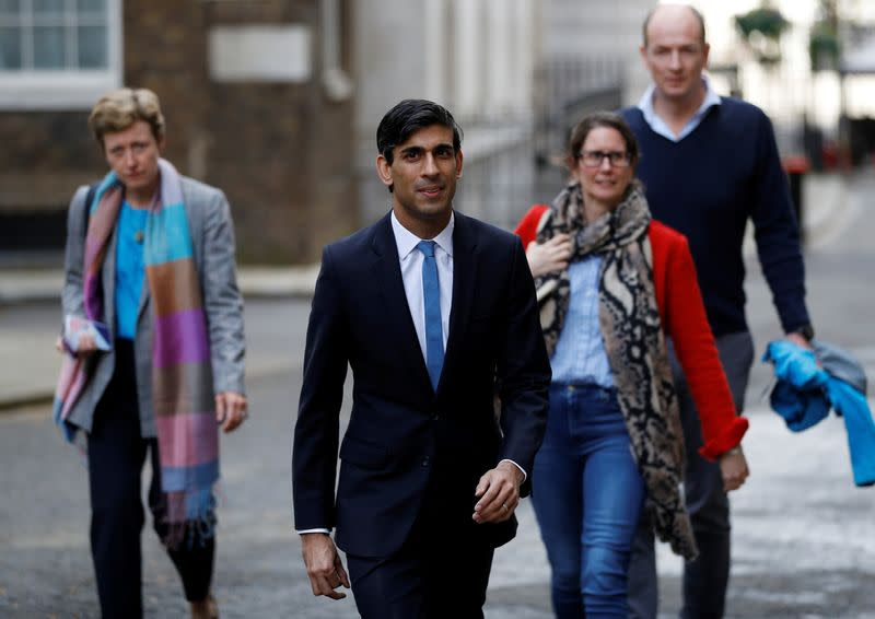 UK finance minister Sunak, 39, next in line to lead country after Raab