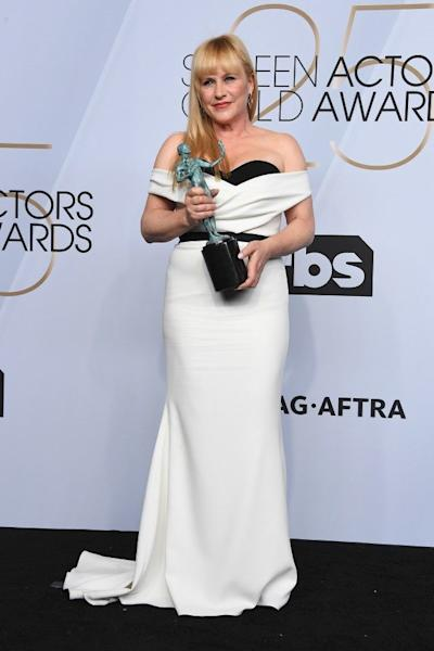 The actress took home the SAG Award for Outstanding Performance by a Female Actor in a Television Movie or Miniseries.