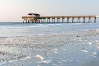 <p>Sunrise at Tybee Island, a popular vacation spot located 20 minutes from Savannah.</p>