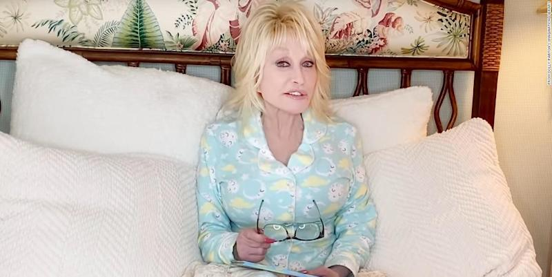 Dolly Parton Launches 'Goodnight With Dolly' Bedtime Story Series