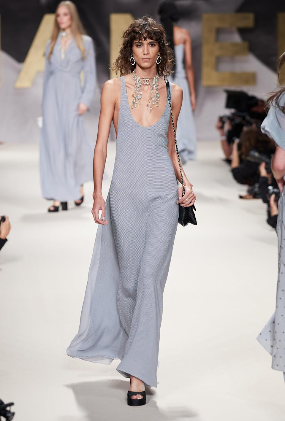 <p>Imagine grocery shopping in this maxi dress, casually channeling red carpet-Zendaya. </p>