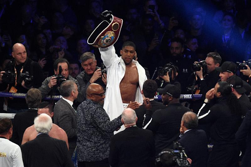 Joshua to meet Povetkin before Wilder