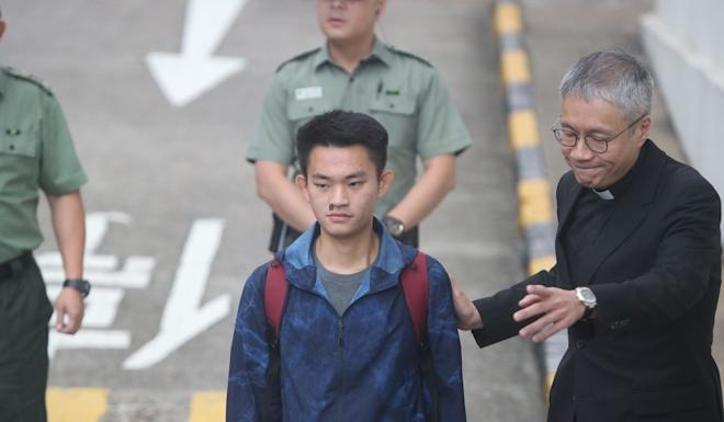 After he was released from a Hong Kong jail in October, murder suspect Chan Tong-kai said he was willing to turn himself in to authorities in Taiwan. Photo: Winson Wong