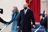 """<p>""""Rules for Happiness: something to do, someone to love, something to hope for,"""" wrote Joe Biden in his book, <a href=""""https://www.amazon.co.uk/Promise-Me-Dad-Hardship-Purpose/dp/150989005X?tag=hearstuk-yahoo-21&ascsubtag=%5Bartid%7C1927.g.35275875%5Bsrc%7Cyahoo-uk"""" rel=""""nofollow noopener"""" target=""""_blank"""" data-ylk=""""slk:Promise Me, Dad: A Year of Hope, Hardship, and Purpose."""" class=""""link rapid-noclick-resp"""">Promise Me, Dad: A Year of Hope, Hardship, and Purpose.</a></p>"""