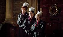 """<p>Bringing new life into the world is bloody hard work, and <strong>Call the Midwife</strong> follows both the women who are there to assist new mothers every step of the way and the mothers themselves. Go ahead and call this show heartwarming - because it is - but don't overlook the fact that it explores women's health issues like nothing else on television. </p> <p>Watch <a href=""""https://www.netflix.com/title/70245163"""" class=""""link rapid-noclick-resp"""" rel=""""nofollow noopener"""" target=""""_blank"""" data-ylk=""""slk:Call the Midwife""""><strong>Call the Midwife</strong></a> on Netflix now.</p>"""