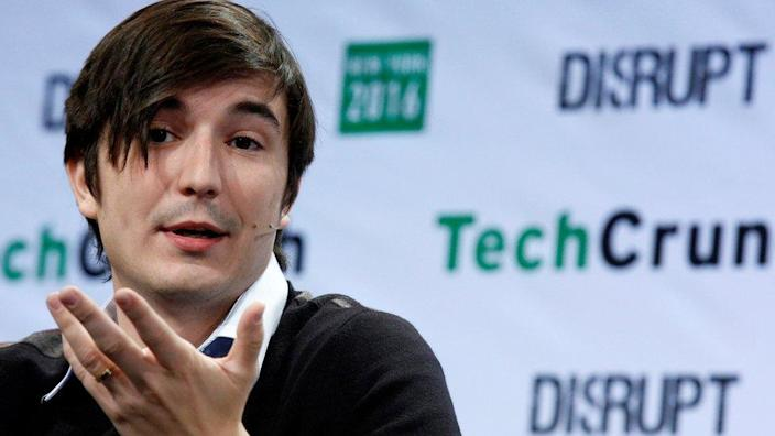 Vlad Tenev, co-founder and co-CEO of investing app Robinhood, speaks during the TechCrunch Disrupt event in Brooklyn borough of New York, U.S., May 10, 2016