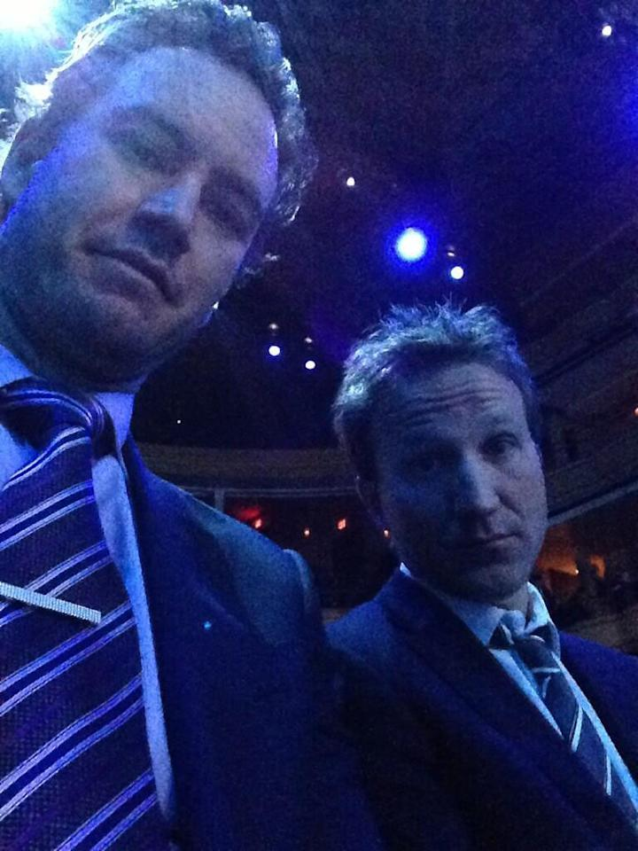 F&B hanging at the Upfronts. #upfronts pic.twitter.com/mBGaGdyjRX
