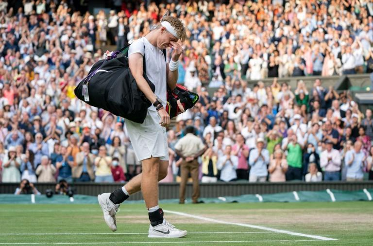 Denis Shapovalov left Centre Court to a standing ovation but in tears due to a feeling he had missed a golden opportunity to beat defending champion Novak Djokovic and reach the Wimbledon final