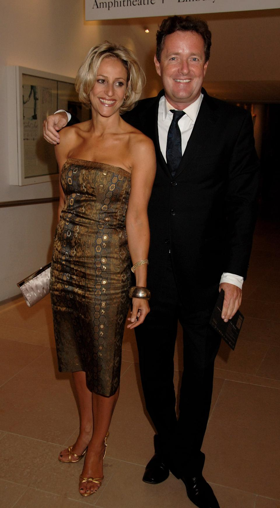 LONDON - SEPTEMBER 04:  (EMBARGOED FOR PUBLICATION IN UK TABLOID NEWSPAPERS UNTIL 48 HOURS AFTER CREATE DATE AND TIME)  Emily Maitlis and Piers Morgan arrive at the GQ Men Of The Year Awards, at the Royal Opera House on September 4, 2007 in London, England.  (Photo by Dave M. Benett/Getty Images)