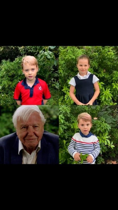 """<p>Prince George, Princess Charlotte and Prince Louis made their <a href=""""https://people.com/royals/prince-george-princess-charlotte-prince-louis-speak-out-first-time/"""" rel=""""nofollow noopener"""" target=""""_blank"""" data-ylk=""""slk:first public speaking appearance"""" class=""""link rapid-noclick-resp"""">first public speaking appearance</a> in October, asking their very own animal questions to naturalist Sir David Attenborough in a video shared on social media.</p>"""