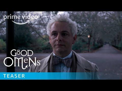 """<p><em>Amazon Prime Video</em> <a class=""""link rapid-noclick-resp"""" href=""""https://www.amazon.com/Inside-Look-Good-Omens/dp/B07FMLSCTP?tag=syn-yahoo-20&ascsubtag=%5Bartid%7C10067.g.25605691%5Bsrc%7Cyahoo-us"""" rel=""""nofollow noopener"""" target=""""_blank"""" data-ylk=""""slk:Watch Now"""">Watch Now</a></p><p>After years of niche acclaim, Neil Gaiman's novels have truly broken into the mainstream with Starz's adaptation of <em>American Gods</em>, and now Amazon's <em>Good Omens</em>. While there's always a touch of humor in Gaiman's work, <em>Good Omens</em> is perhaps his funniest story. As he says, """"Almost thirty years ago, Terry Pratchett and I wrote the funniest novel we could about the end of the world... Three decades later it's going to make it to the big screen."""" David Tennant and Michael Sheen star as unlikely friends—an angel and a demon—working together to avert the apocalypse.<br></p><p><a href=""""https://youtu.be/2ZSXlNRRoGU"""" rel=""""nofollow noopener"""" target=""""_blank"""" data-ylk=""""slk:See the original post on Youtube"""" class=""""link rapid-noclick-resp"""">See the original post on Youtube</a></p>"""