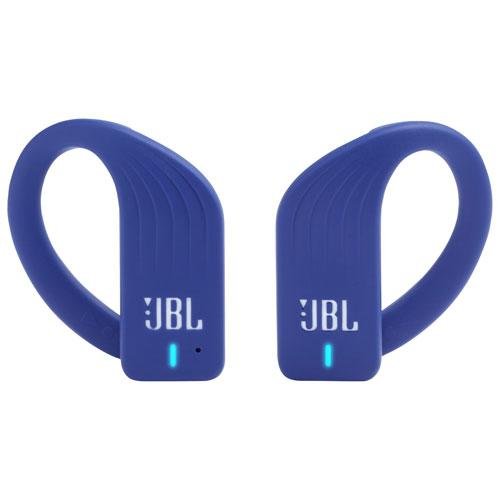 Save $100 on the JBL Endurance PEAK In-Ear Sound Isolating Truly Wireless Sport Headphones. Image via Best Buy.