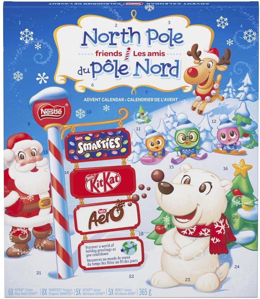 Nestlé Advent Calendars are on sale through Amazon Canada.