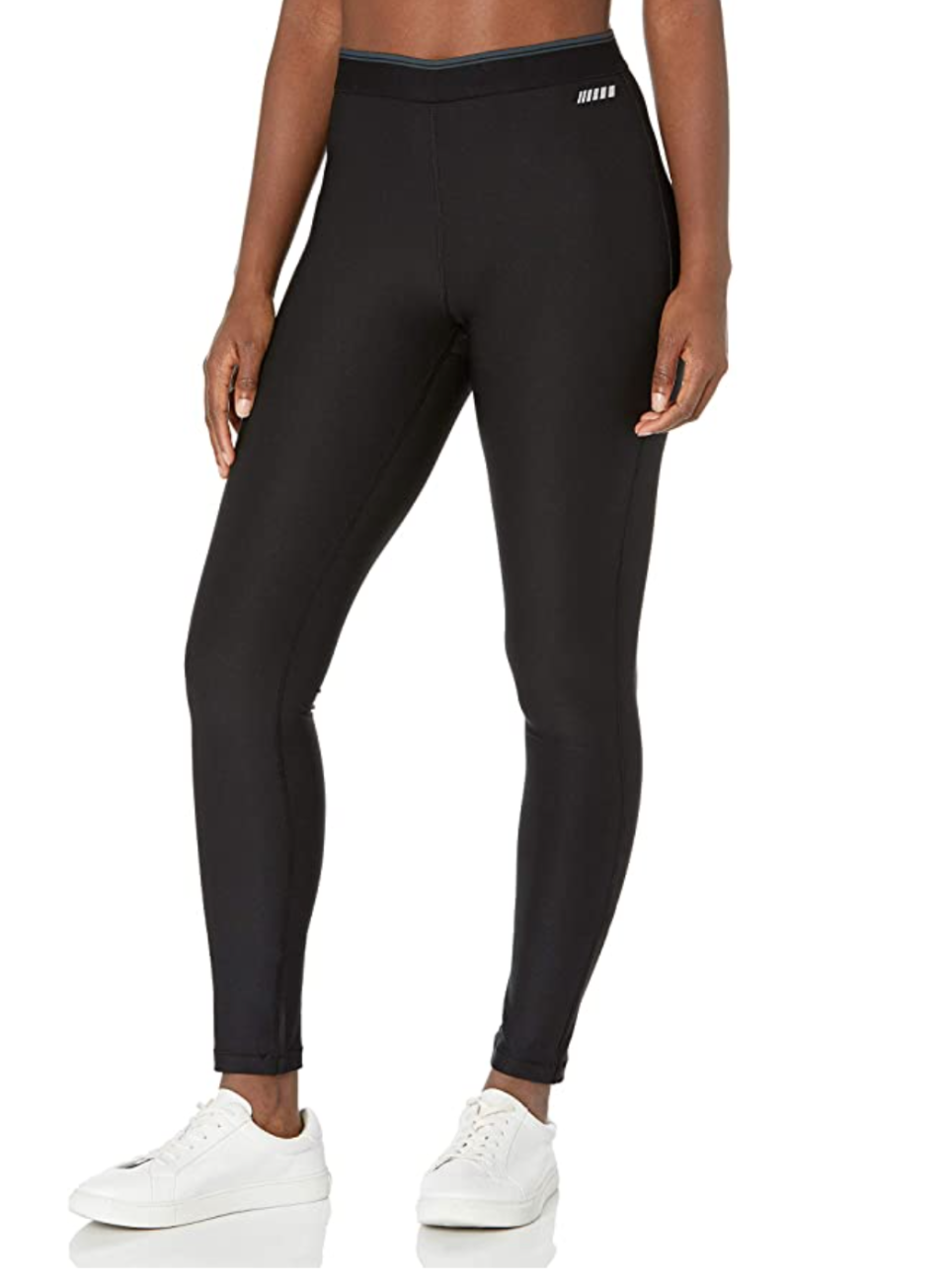 Amazon Essentials Elastic Waist Performance Legging in Black (Photo via Amazon)