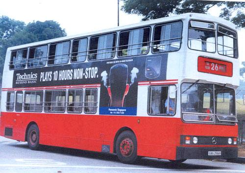 Non-air-conditioned buses