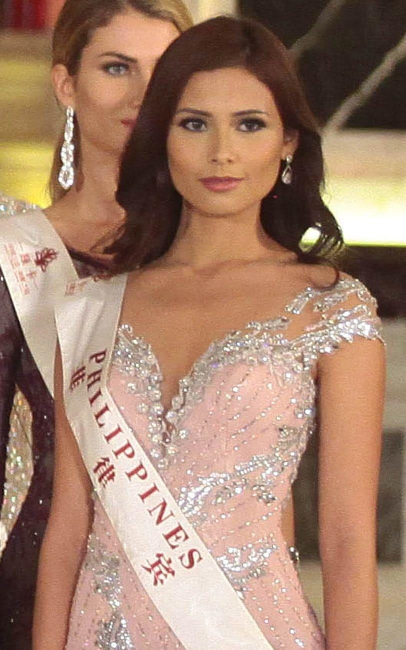 Hillarie Parungao during the 2015 Miss World contest - Copyright (c) 2015 Rex Features. No use without permission.