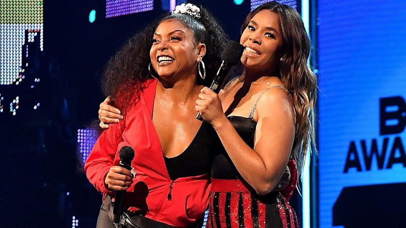 Regina Hall and Taraji P. Henson Show Off Their Bootylicious Dance Moves During Epic 2019 BET Awards Opener