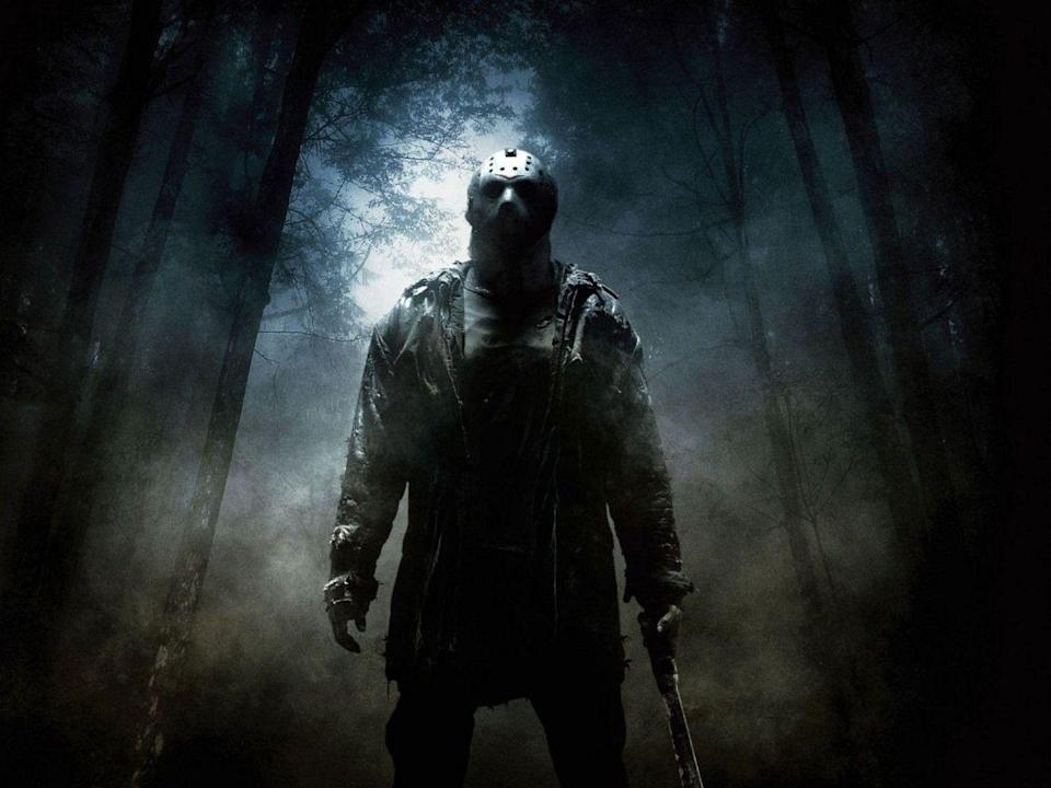 """<p>The iconic hockey-masked killer has lurked the grounds at Camp Crystal Lake since his cinematic debut in 1980. Since then, <a href=""""https://www.redbookmag.com/life/g29216703/friday-the-13th-films-ranked/"""" rel=""""nofollow noopener"""" target=""""_blank"""" data-ylk=""""slk:Jason Voorhees has been everywhere"""" class=""""link rapid-noclick-resp"""">Jason Voorhees has been everywhere</a> from Manhattan to Hell and even outer space. After <strong>12</strong> films, you'd think he would've had enough. But it's only a matter of time before Voorhees slashes his way to lucky number 13.</p>"""