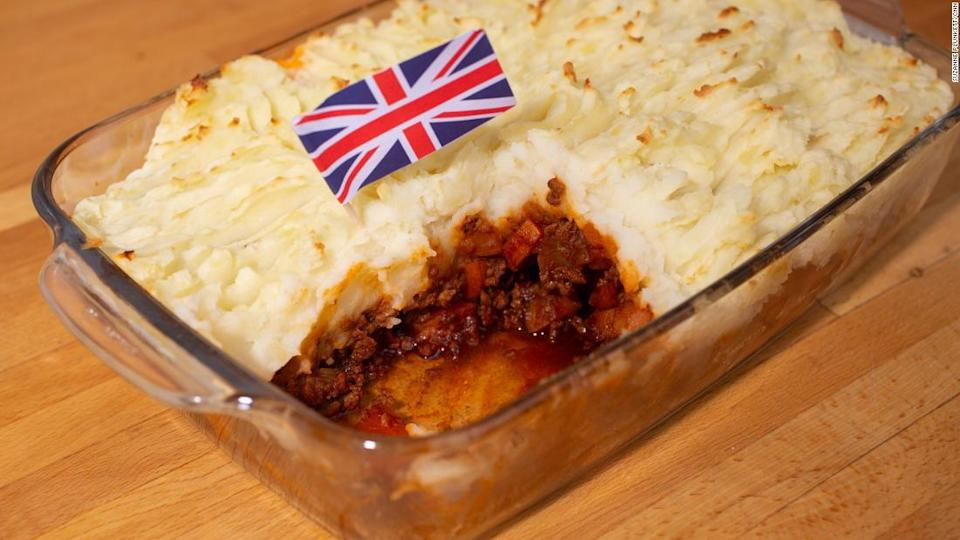 "<p>Shepherd's Pie is a classic winter warmer. </p><div class=""cnn--image__credit""><em><small>Credit: Suzanne Plunkett/CNN / Suzanne Plunkett</small></em></div>"