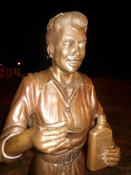 """<p>No one loved the Lucy statue in the comedienne's hometown of Celoron, N.Y., from the time it was unveiled in 2009. Mayor Scott Schrecengost even promised that taxpayer funds would not be used to pay the $8,000 to $1,000 to redo the strange rendering, and a private fund was set up for a time. Artist Dave Poulin eventually wrote a letter apologizing for his initial creation and offered to make a new one at no expense. However, it was sculptor Carolyn Palmer who unveiled <a rel=""""nofollow"""" href=""""https://www.yahoo.com/celebrity/scary-lucy-statue-finally-replaced-194736247.html"""">a more realistic-looking Lucy</a> on the late star's 105th birthday, Aug. 6, 2016. (Photo: Facebook) </p>"""