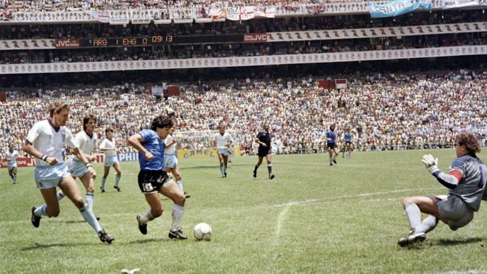 WORLD CUP-1986-ARG-ENG | STAFF/Getty Images