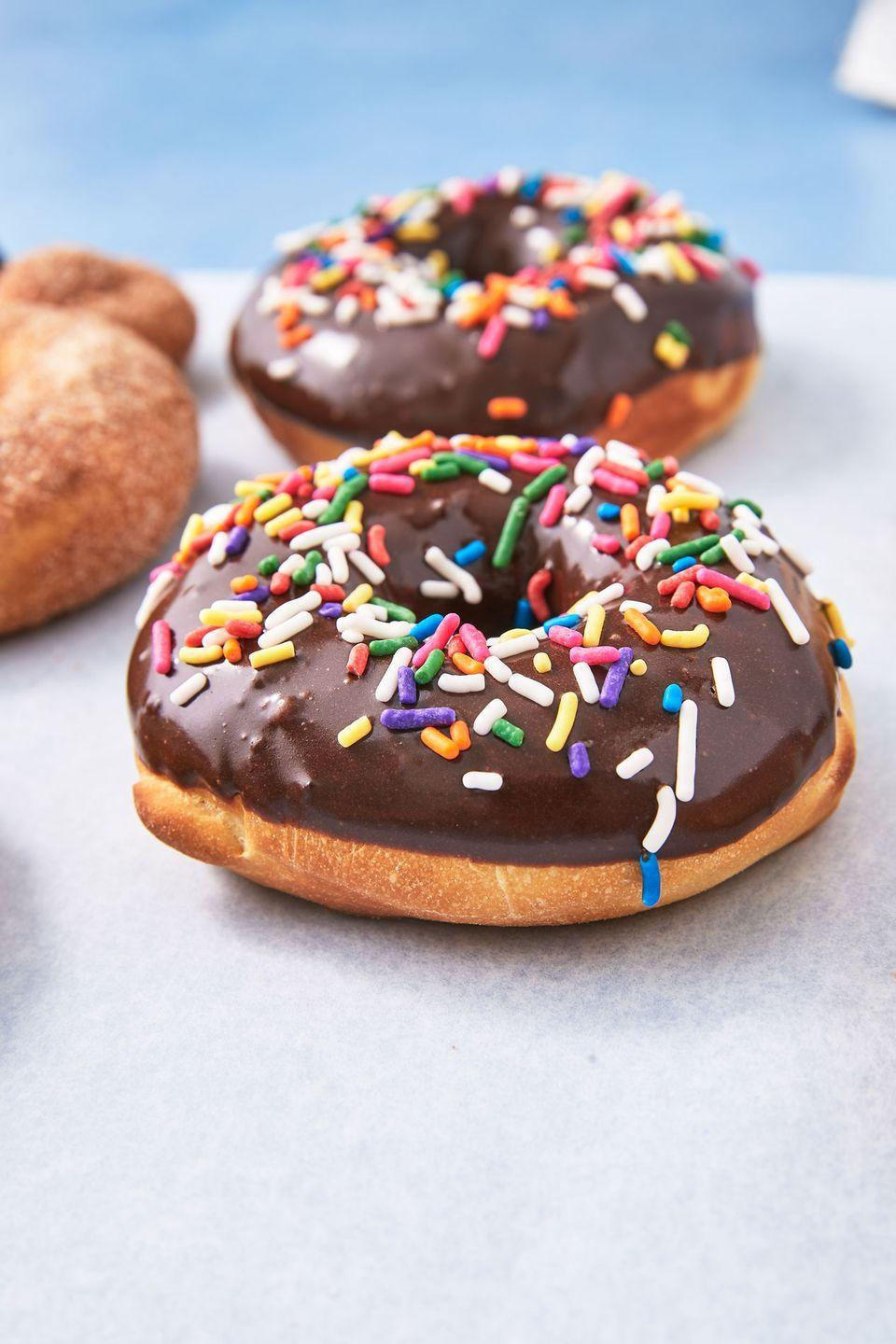 """<p>For the person you donut ever wanna live without.</p><p>Get the recipe from <a href=""""https://www.delish.com/cooking/recipe-ideas/a28108343/air-fryer-doughnuts-recipe/"""" rel=""""nofollow noopener"""" target=""""_blank"""" data-ylk=""""slk:Delish"""" class=""""link rapid-noclick-resp"""">Delish</a>.</p>"""