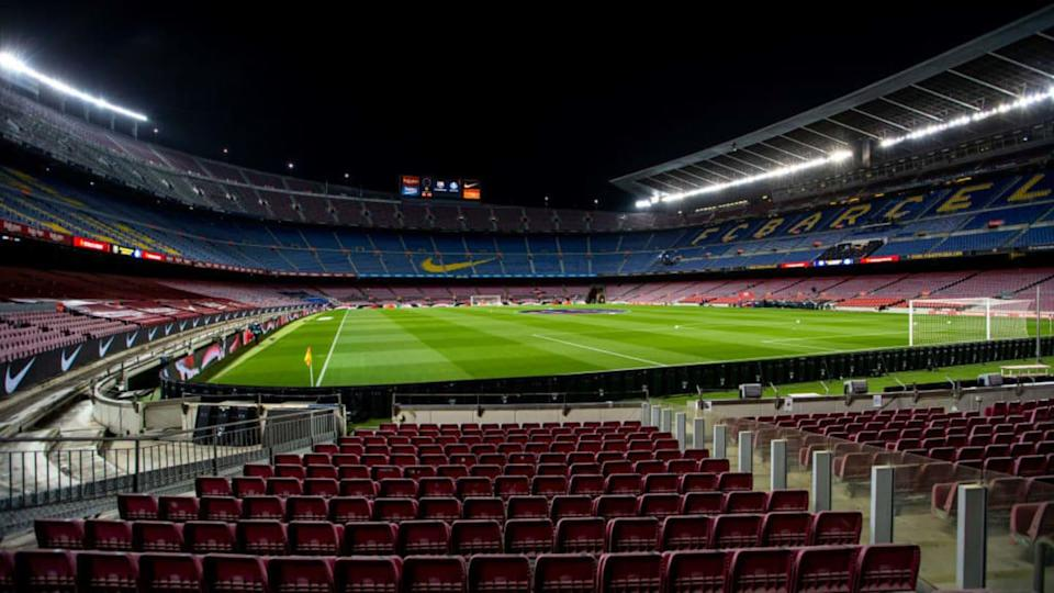 LaLiga no Camp Nou. | Soccrates Images/Getty Images