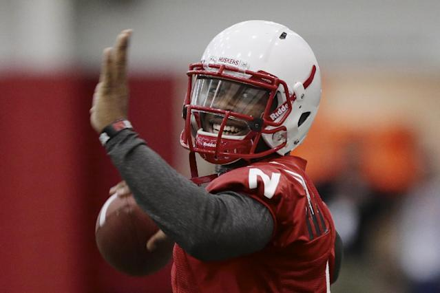 Neb QB Armstrong says he's learned from mistakes