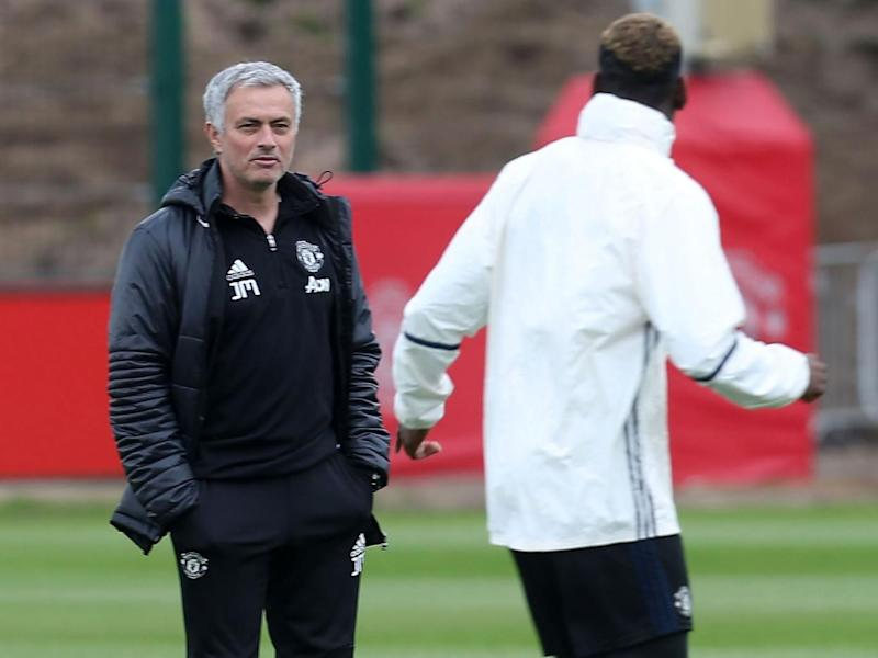 Mourinho will field a squad that features a number of academy players against Palace (Getty)