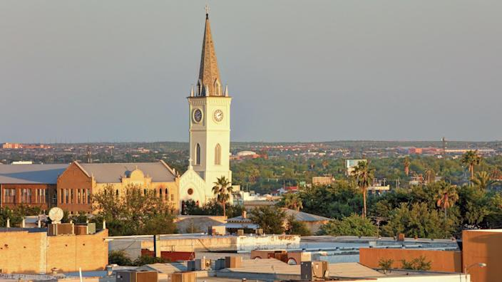 Laredo is the county seat of Webb County, Texas, United States, on the north bank of the Rio Grande in South Texas, across from Nuevo Laredo, Tamaulipas, Mexico.