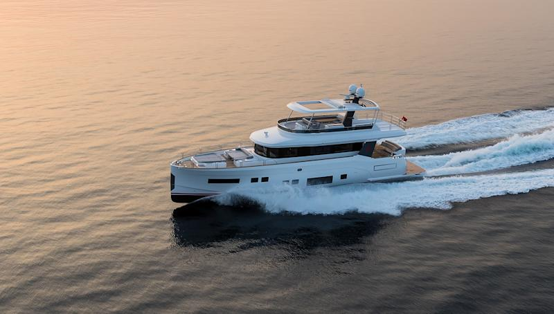 Sirena 64 Kicks Off New Line of Motor Yachts