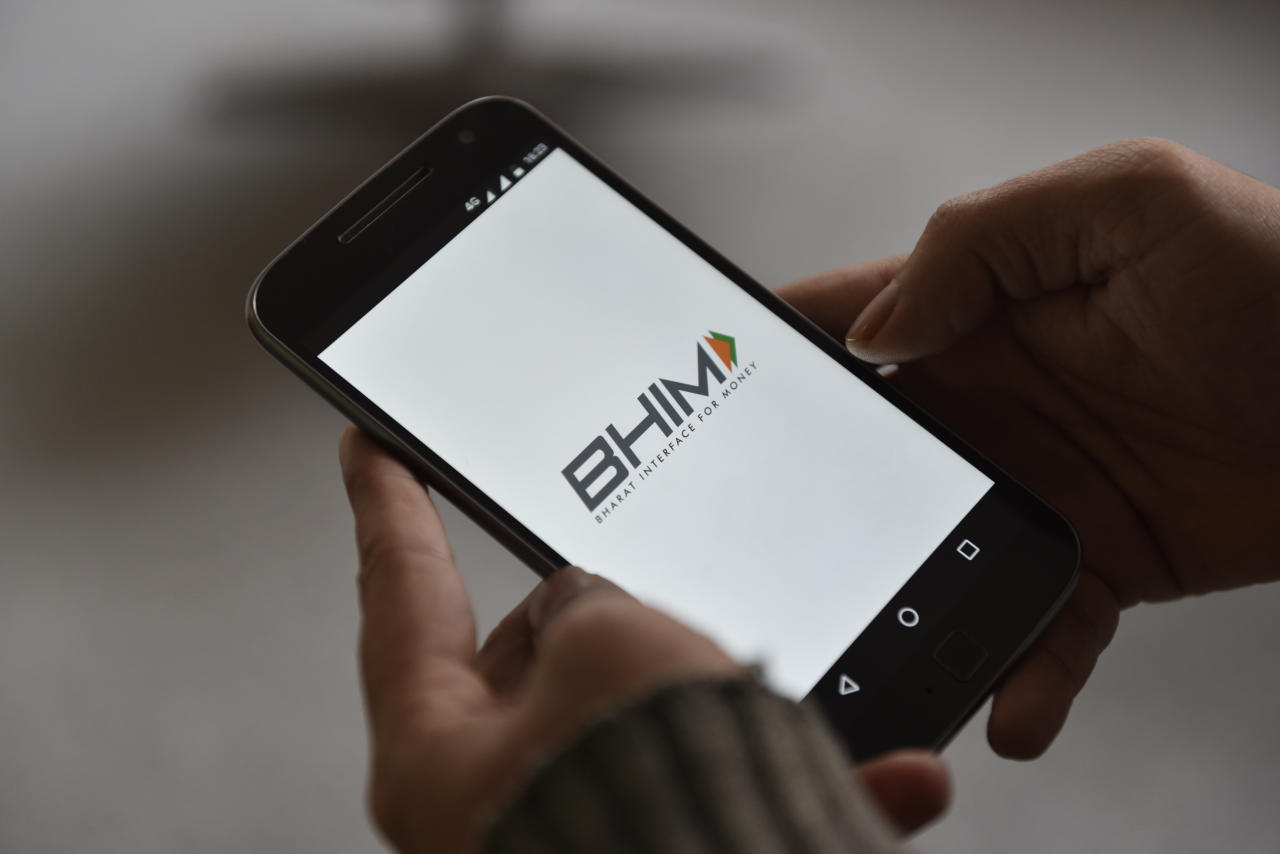 <p>BHIM: Bharat Interface for Money (BHIM) is an initiative to enable fast, secure, reliable cashless payments through your mobile phone. BHIM is interoperable with other Unified Payment Interface (UPI) applications, & bank accounts for quick money transfers online. This is a Government of India initiative. </p>