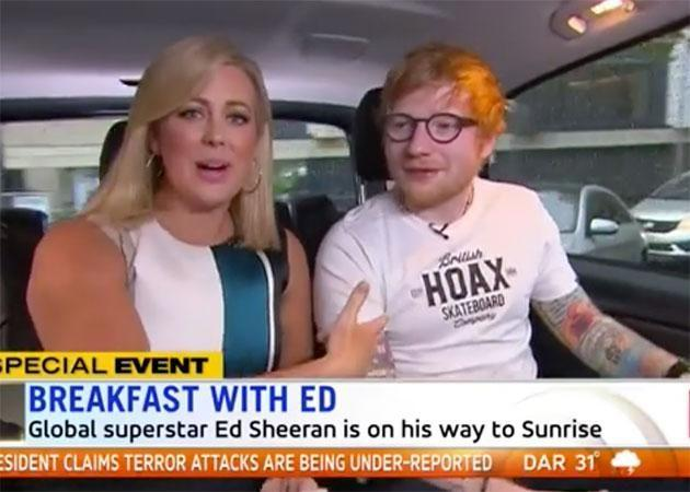 Sam made the mistake with Ed last week. Source: Channel Seven