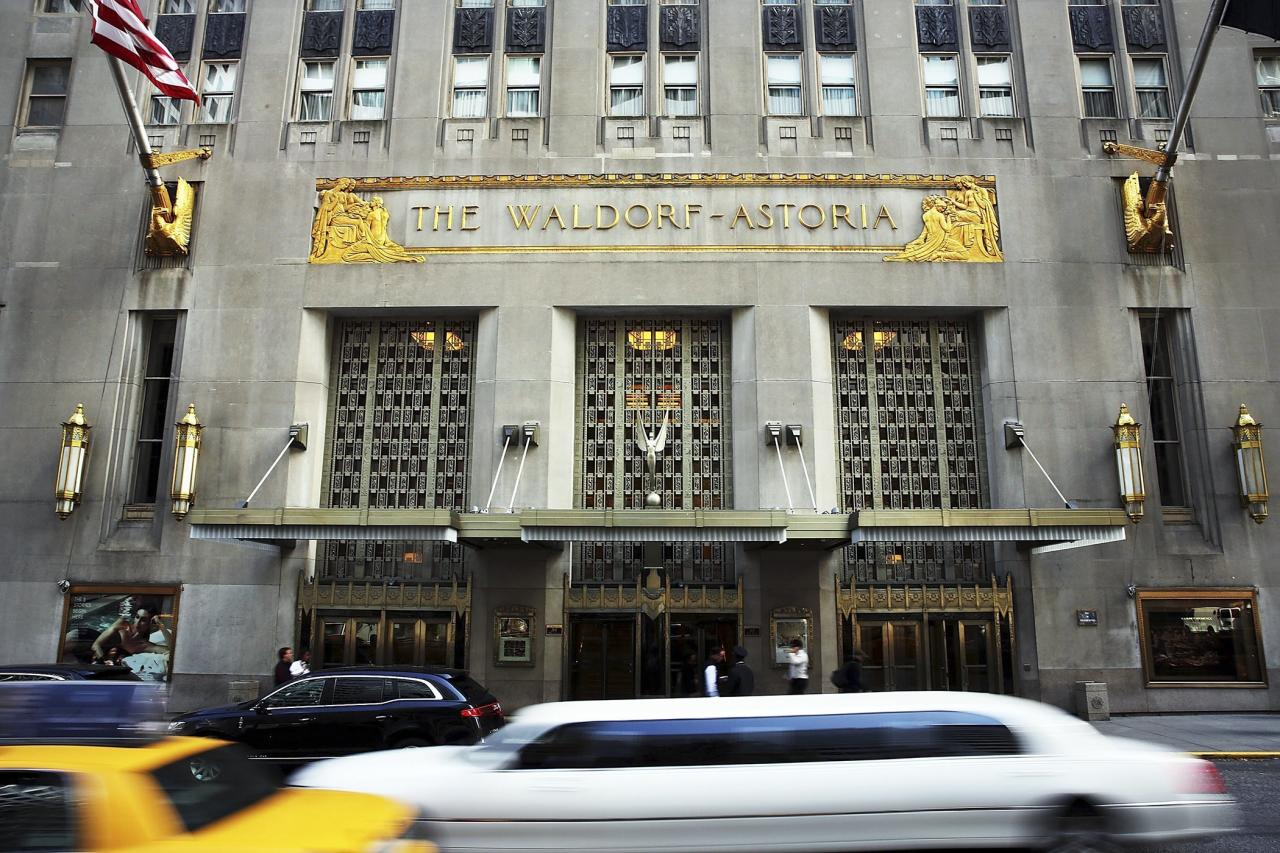 In 2007, the couple aquired an apartment in the Waldorf Astoria Towers, adjacent to the famed hotel, in New York City, according to ABC News, which suggested the central Manhattan location and notoriously tight security, were major factors.