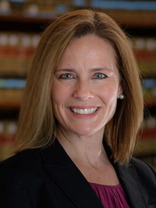 Amy Coney Barrett is a federal appeals court judge