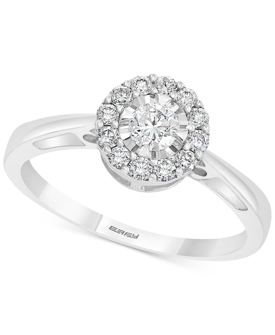 <p>This <span>Effy Diamond Engagement Ring</span> ($1,225, originally $2,701) will never go out of style.</p>