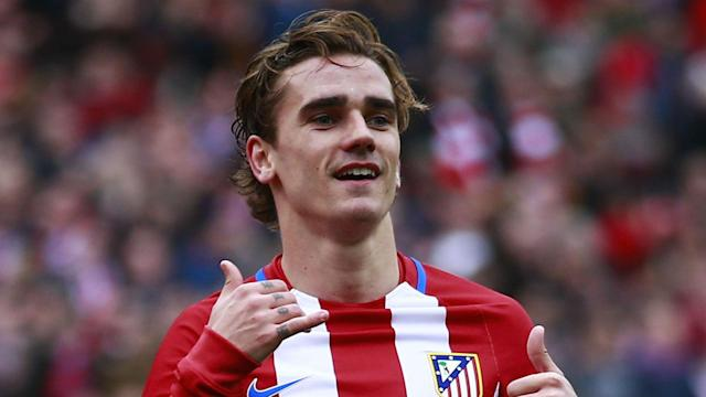 Atletico Madrid forward Antoine Griezmann appeared to express his loyalty to the club via a social media post on Thursday.