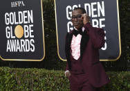 FILE - Wesley Snipes arrives at the 77th annual Golden Globe Awards on Jan. 5, 2020, in Beverly Hills, Calif. Snipes turns 59 on July 31. (Photo by Jordan Strauss/Invision/AP, File)