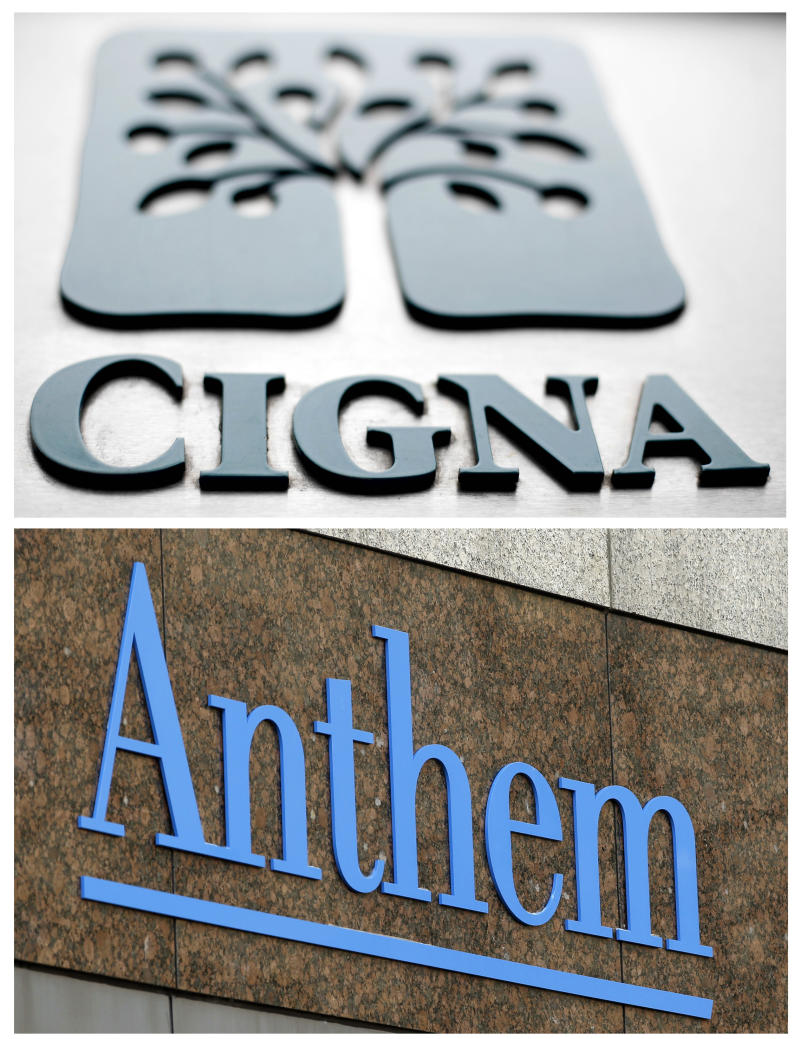 Anthem gives up Cigna bid, vows to fight on over damages