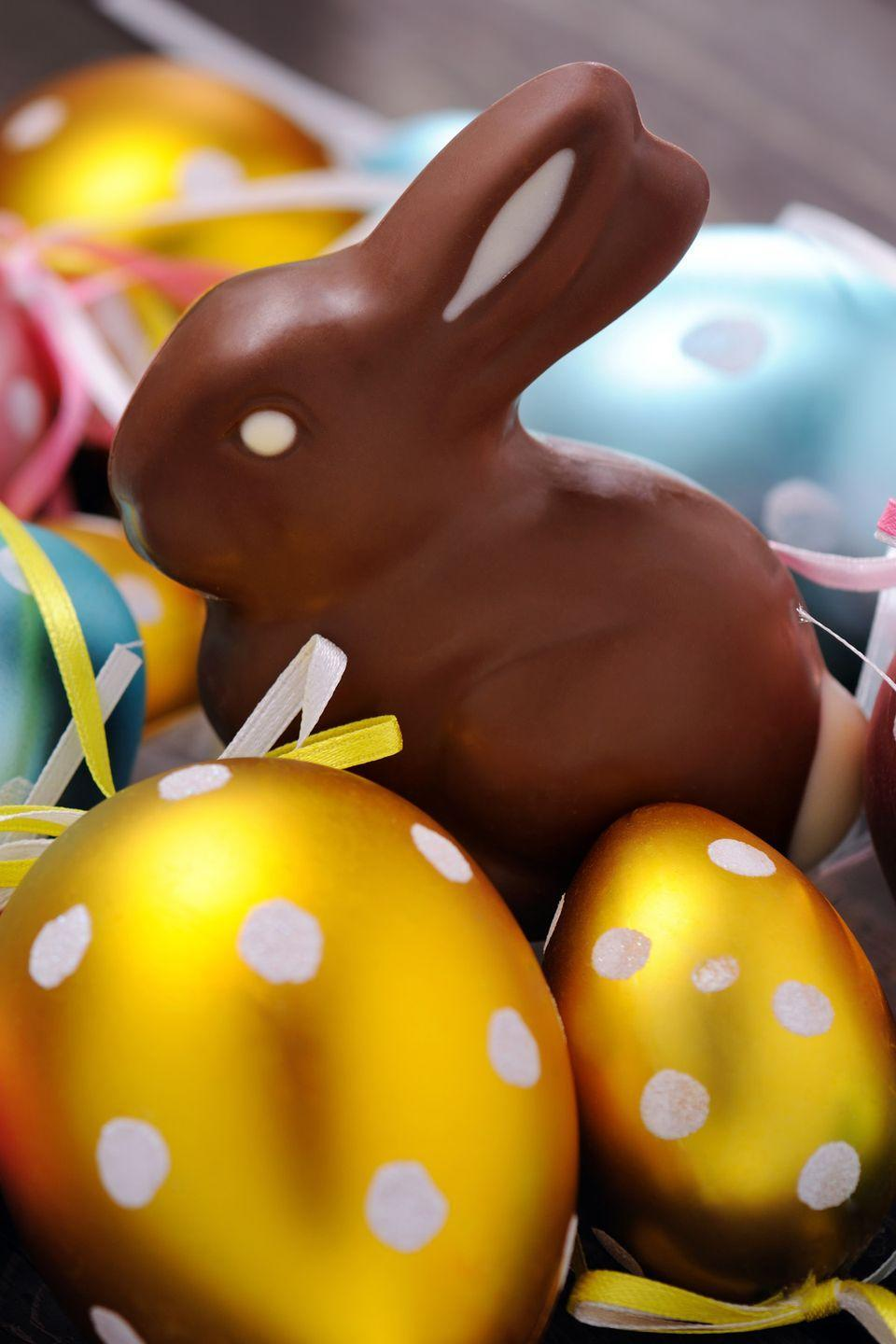 "<p>Considering <a href=""https://nrf.com/media-center/press-releases/easter-spending-expected-be-second-highest-nrf-survey-history"" rel=""nofollow noopener"" target=""_blank"" data-ylk=""slk:$2.6 billion is spent on candy"" class=""link rapid-noclick-resp"">$2.6 billion is spent on candy</a> alone during this religious celebration, it makes sense. Oh, and that's only in <a href=""https://www.thestreet.com/slideshow/14087656/1/easter-spending-by-the-numbers-100-million-chocolate-bunnies-and-16-billion-jelly-beans.html"" rel=""nofollow noopener"" target=""_blank"" data-ylk=""slk:the United States"" class=""link rapid-noclick-resp"">the United States</a>.</p><p><strong>RELATED:</strong> <a href=""https://www.goodhousekeeping.com/holidays/easter-ideas/a27152121/how-is-easter-determined/"" rel=""nofollow noopener"" target=""_blank"" data-ylk=""slk:How the Date of Easter Is Determined"" class=""link rapid-noclick-resp"">How the Date of Easter Is Determined</a></p>"