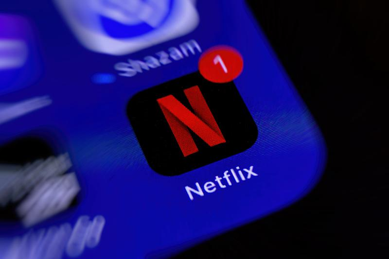 BOCHUM, GERMANY - MAY 11: (BILD ZEITUNG OUT) A smartphone screen is seen with the Streaming app Netflix on May 11, 2020 in Bochum, Germany. (Photo by Mario Hommes/DeFodi Images via Getty Images)