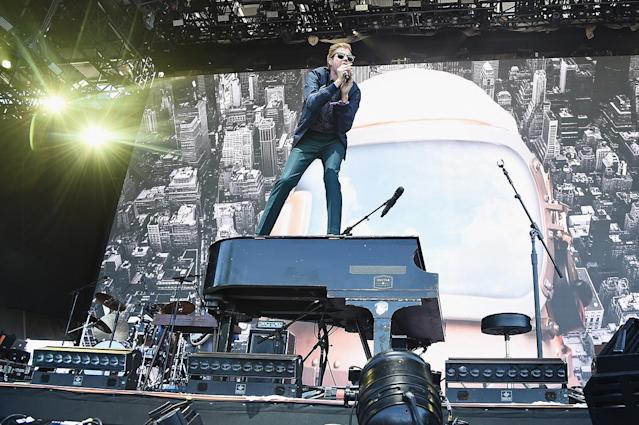 <p>Andrew McMahon of Andrew McMahon in the Wilderness performs onstage at the Panorama Stage during the 2017 Panorama Music Festival at Randall's Island on July 29, 2017 in New York City. (Photo by Theo Wargo/Getty Images for Panorama) </p>
