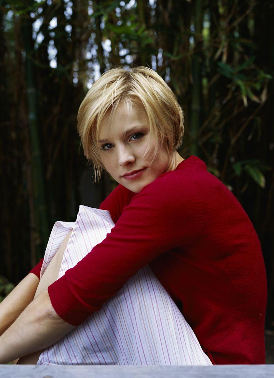 <p>Whether you know her from <em>Veronica Mars</em> or as Anna from <em>Frozen, </em>Kristen Bell's TV and film roles have made her a household name. But in 2001, she made her debut on Broadway in <em>The Adventures of Tom Sawyer</em><em>. </em>She decided to move to Los Angeles in 2002 and started acting on screen in <em>Gracie's Choice </em>and <em>Spartan. </em></p>