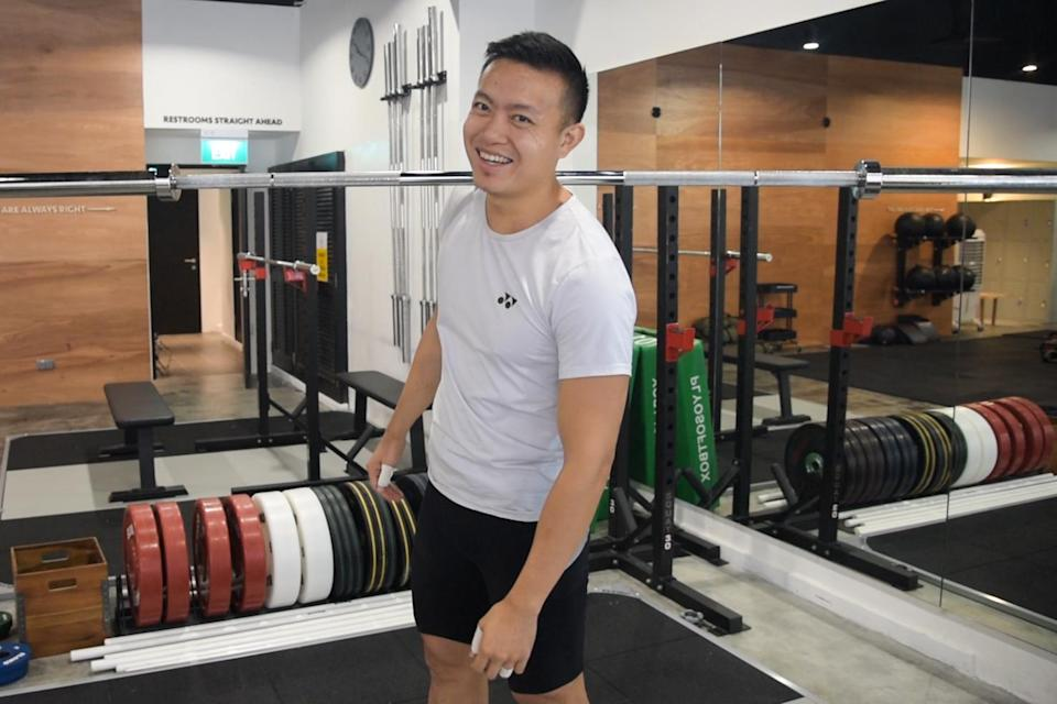 John Cheah loves weightlifting because he believes it is one of the most precise and efficient ways of moving something through space. (PHOTO: Stefanus Ian)