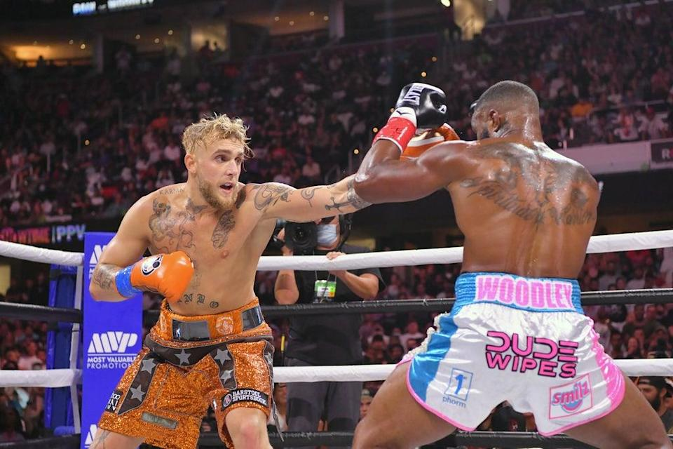 Jake Paul beat Tyron Woodley after a split decision   (Getty Images)