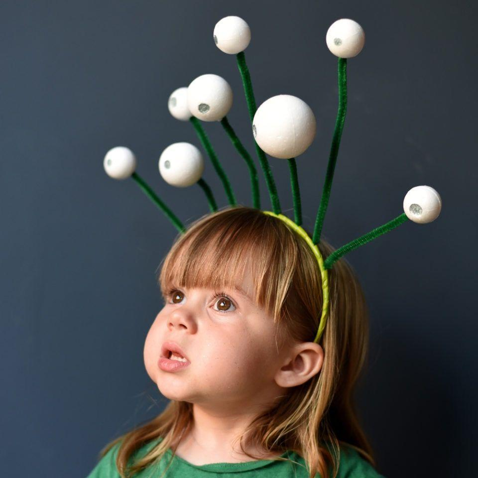 """<p>This super-creative headband that uses pipe cleaners is the foundation of an alien costume for any age, from toddler to adult. </p><p><strong>Get the tutorial at <a href=""""http://thisisladyland.com/diy-space-costumes-step-by-step/"""" rel=""""nofollow noopener"""" target=""""_blank"""" data-ylk=""""slk:Ladyland"""" class=""""link rapid-noclick-resp"""">Ladyland</a>.</strong></p><p><a class=""""link rapid-noclick-resp"""" href=""""https://www.amazon.com/Colorations-IPCGR-Pipe-Cleaners-Green/dp/B01HZMQDW4/ref=sr_1_2_sspa?tag=syn-yahoo-20&ascsubtag=%5Bartid%7C10050.g.28496790%5Bsrc%7Cyahoo-us"""" rel=""""nofollow noopener"""" target=""""_blank"""" data-ylk=""""slk:SHOP GREEN PIPE CLEANERS"""">SHOP GREEN PIPE CLEANERS</a></p>"""