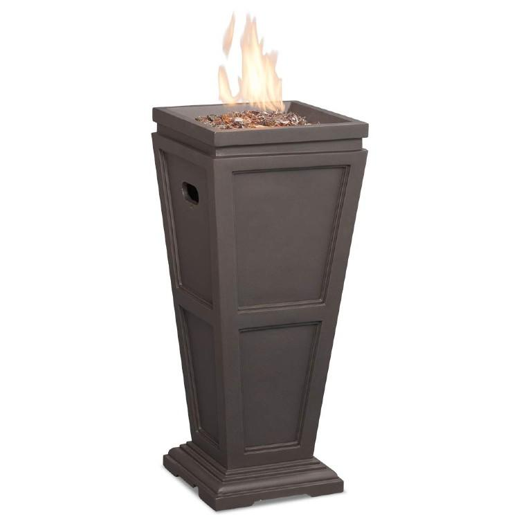 Endless Summer GLT1332B LP Gas Outdoor Fireplace. (Photo: Amazon)