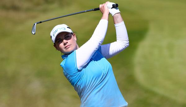 Golf: Women's British Open: Masson Dritte in Schottland